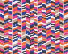 Feiner Baumwollstoff, Popeline FLY TO THE SKY, Fischgrat-Illusion, blau-pink