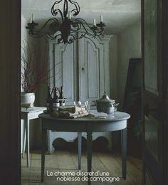 Swedish Gustavian Interiors | from Mäster Henriks