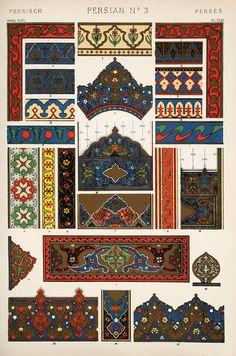 Decorative Arts: The grammar of ornament: [Persian ornament. Plates 44, 45, 46, 47, 47*, 48]