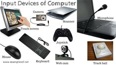 10 Examples of Input Devices of Computer
