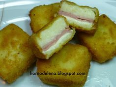 Recetas fáciles de Josean MG: Cuadraditos de jamón y queso