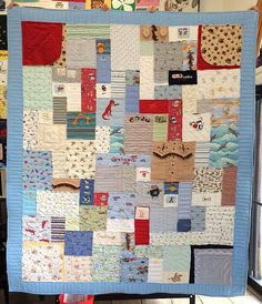 Baby clothing quilt https://www.toocooltshirtquilts.com/baby