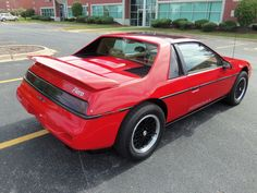 '88 Pontiac Fiero Formula, low mile car | eBay