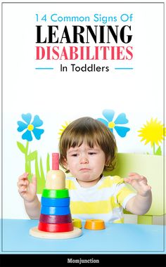 14 Common Signs Of Learning Disabilities In Toddlers