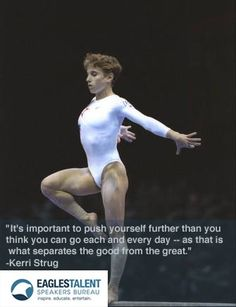 >>>Cheap Sale OFF! >>>Visit>> 96 Olympic Games Gymnastic Hero Kerri Strug gives inspirational quote on self motivation. Gymnastics Skills, Gymnastics Workout, Olympic Gymnastics, Olympic Sports, Olympic Games, Gymnastics Stuff, Inspirational Gymnastics Quotes, Inspirational Quotes For Women, Great Quotes