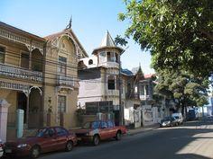 Casas Victorianas Playa Ancha, Valparaiso