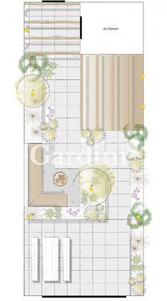 Gardini Small City Garden, Home And Garden, Bedroom Minimalist, Log Cabin Furniture, Coffee Bar Home, Japanese Interior Design, Garden Design Plans, Asian Home Decor, Terrace Design