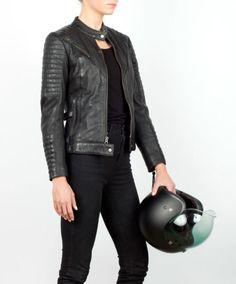 Wild & Free women's motorcycle jacket. Wild & Free women's motorcycle jacket. Motorcycle Style, Motorcycle Fashion, Motorcycle Gear, Women's Motorcycle Jackets, Biker Fashion, Women Motorcycle, Moto Style, Riding Gear, Lady Biker