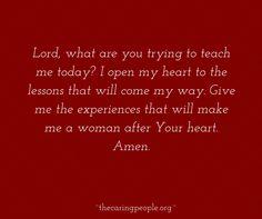 A beautiful prayer!