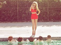 See Haley Reinhart pictures, photo shoots, and listen online to the latest music. Hailey Reinhart, Cute High Waisted Bikinis, The Sandlot, Photoshoot Inspiration, Photoshoot Ideas, Cool Style, My Style, Celebs, Celebrities