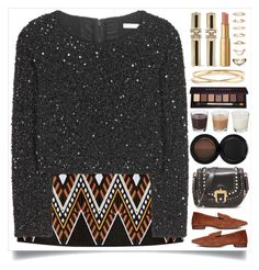 """wonderland"" by itsybitsy62 ❤ liked on Polyvore featuring DKNY, Alice + Olivia, Lanvin, Too Faced Cosmetics, Nadri, Forever 21, Paula Cademartori, Bobbi Brown Cosmetics, H&M and Sigma"