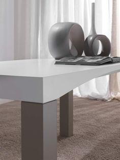 Modern wooden table M'Arco | milanomondo