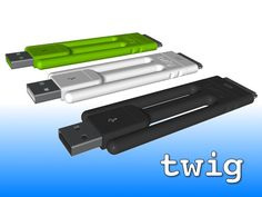 Twig: the amazing ultra-portable cable for your iPhone by Jason Hilbourne, via Kickstarter.