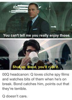 Q James Bond, James Bond Movies, Ben Whishaw, Skyfall, James Herbert, The Danish Girl, British Things, Les Gifs, Casino Night Party