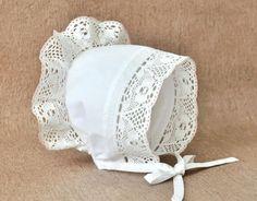 Шьем нарядный чепчик для малышки - Ярмарка Мастеров - ручная работа, handmade