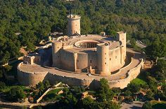 Castello di Bellver a Palma di Maiorca