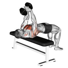 Chest exercises dumbbell: GIF from the exercise covers. - # chest exercises # covers You are in the right place about beautiful GIF Here we offer you the most beautiful pictures ab Fitness Workouts, Gym Workout Videos, Easy Workouts, At Home Workouts, Fitness Gif, Muscle Fitness, Insanity Workout, Best Cardio Workout, Dumbbell Workout