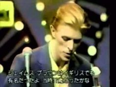 Don't let me hear you say life's taking you nowhere, angel Come get up my baby Run for the shadows, run for the shadows Run for the shadows in these golden years - David Bowie   Golden Years From Soul Train