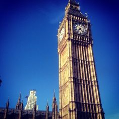 Big Ben in City of Westminster, Greater London