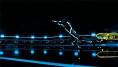 ... gifs disney garrett hedlund TRON Tron: Legacy Jeff Bridges Tron Legacy