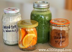 Recycled Glass Containers by All Things G&D