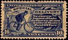 MAIL~Special delivery! What a great stamp.