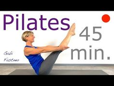 Pilates Workout Routine, Pilates Abs, Pilates Training, Fitness Workouts, Ejercicios Mat Pilates, Pilates Videos, Videos Yoga, Pilates Challenge, Yoga Video