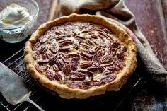 Pecan pie recipe (Photo: Andrew Scrivani for The New York Times)