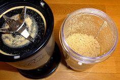 Mandelparmesan, gefunden auf homeveganer.blogspot.de