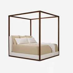 Desert Modern Canopy Bed - Furniture - Products - Products - Ralph Lauren Home - RalphLaurenHome.com