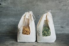 Zero Waste Store, Clothing Packaging, Tea Packaging, Food Packaging Design, Pantry Design, Produce Bags, Diy Couture, Linen Bag, Green Life