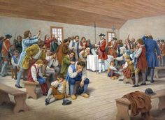"""""""The Deportation Order,"""" painting by Claude Picard Cajun French, French Creole, Canadian History, American History, Acadie, Louisiana History, Pioneer Life, Medieval, Parks Canada"""