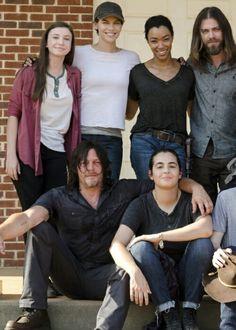 Cast of The Walking Dead season 7