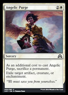 Angelic Purge Shadows Over Innistrad