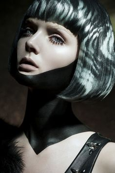 Fault magazine-Persephone Reborn by Mdf retouching , via Behance