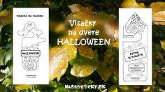 Visačka na kľučku - Halloween