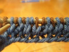 Simple Double Knit Tutorial
