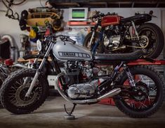 "On BikeBound.com: #XS650 #scrambler ""Jolie"" by Therapy Garage. Link in Profile"