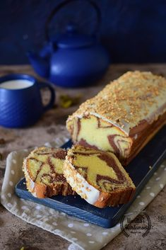 Polish Recipes, Polish Food, Fancy Desserts, Breakfast Menu, Pound Cake, Banana Bread, Cake Recipes, Sweet Tooth, Food And Drink