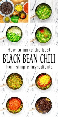 This Black Bean Chili is easy to make in one pot and packed with flavor. Budget friendly, filling, satisfying and naturally vegan. Great for meal prep and a family favorite in no time. #vegan #dairyfree #vegetarian #contentednesscooking #dinner #lunch #mealprep #blackbeanchili #freezermeals Vegan Breakfast Recipes, Delicious Vegan Recipes, Yummy Food, Black Bean Chili, Black Beans, Best Comfort Food, Comfort Foods, Dairy Free Diet, Gluten Free