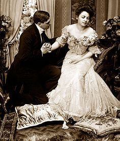 Please not now I have to castigate the servants . . Those people under the stairs. edwardian era, stair, fashion, earli 1900s, style photographi, eravictorian weddingth, vintag photographi, antiqu photographi, retro style