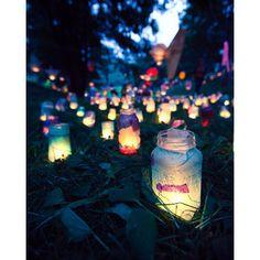 beautiful diy lanterns...