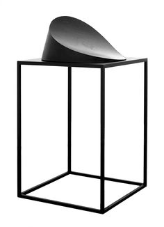 "Michał Budny [Poland] (b 1976) ~ ""Midnight voice"", 2010. Cardboard, paint (35 x 63 x 63 cm). | #art #sculpture #abstract_art #conceptual_art #minimal_art"