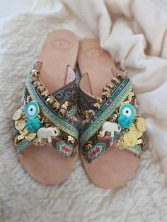 Bling Sandals, Strappy Sandals, Gladiator Sandals, Boho Shoes, Bare Foot Sandals, Greek Sandals, Fashion Sandals, Types Of Shoes, Ibiza