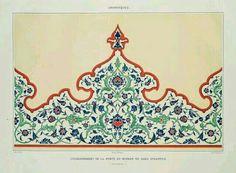 Moorish frieze from Spain found in Pinterest