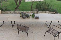 Quelles-tables-chaises-extérieur-choisir-nouveautés-bois-métal-Unopiù-Ferruccio Laviani - Le Blog Déco de MLC