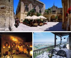 The Xara Palace Hotel is located on the Mediterranean Island of Malta in th fortified city of Medina