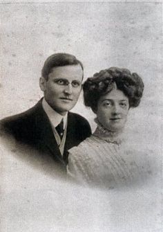 Mr. Hudson Joshua Creighton Allison and his wife, Mrs. Bess Waldo Daniels Allison - The couple perished with their daughter Helen Loraine
