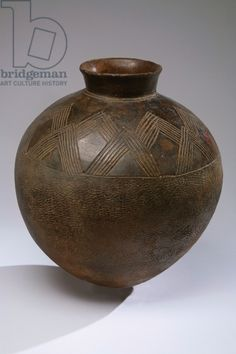 Pot, Lobi people (Burkina Faso, Cote d'Ivoire and Ghana) (pottery & paint)