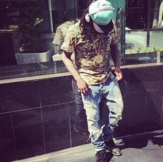 Wale out and about in L.A.
